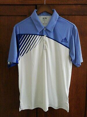 Adidas Golf Polo Shirt - White - Medium