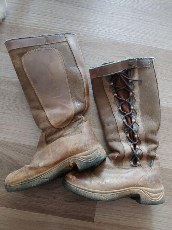 Dublin Pinnacle Boots - Chocolate Waterproof Ladies