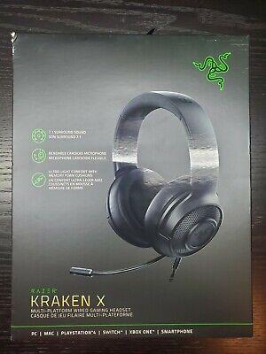 Razer Kraken X Multi Platform Wired Gaming Headset