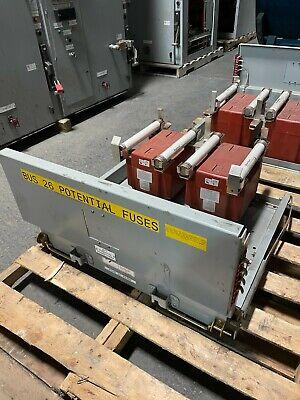 Siemens Pt Drawer Pri 7200v 601 Bil 110kv W Fuses