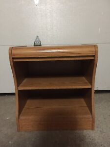 Wooden end table / night stand