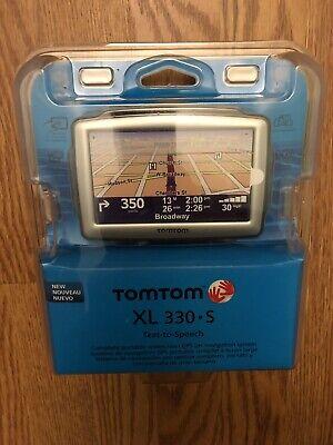 NEW TomTom XL 330-s Text-to-speech