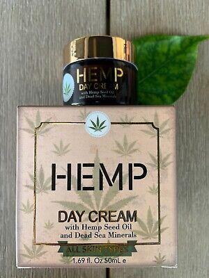 SPA- Hemp Day Cream, With Hemp Seed Oil And Dead Sea Minerals 1.69 Oz NIB Dead Sea Spa Care