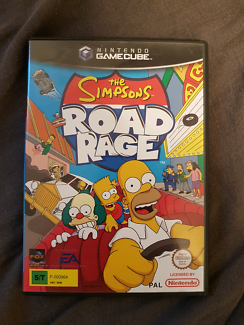 The Simpsons Road Rage Game Cube