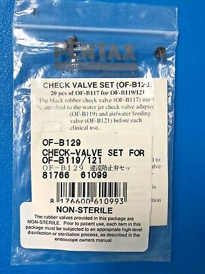 Pentax Of-b129 Check Valve Set F Of-b119 Water Jet Check Of-b121 Aw Valves