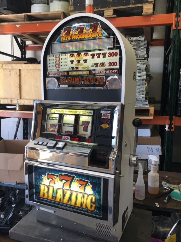 Bally 6000 Blazing 7's Progressive SLOT MACHINE
