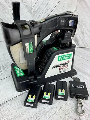 Msa Evolution 5000 Thermal Imaging Camera System Charge Base Three Batteries