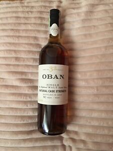 Oban scotch whisky 32 ans très rare