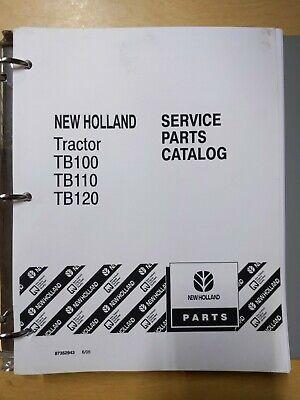 New Holland Tractor Tb100 Tb110 Tb120 Service Parts Catalog