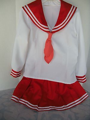 Lucky Star Winter School Uniform Cosplay Costume Size Medium
