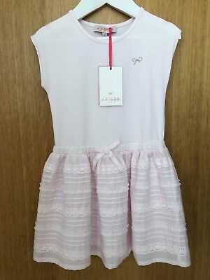 SUMMER SALE LILI GAUFRETTE pink Frill Skirt Dress Age 4 Rrp £64.99 Bnwt