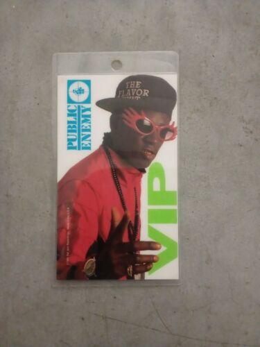 PUBLIC ENEMY ALL ACCESS/VIP TOUR PASS 1991 - MINT