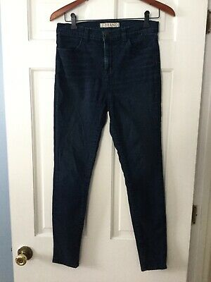 - J Brand Maria High Rise Skinny Jeans Nightwish Size 30 Inches 10