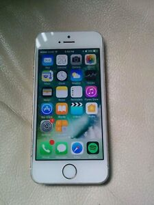 Apple iPhone 5S 16GB White Gold ROGERS CHATR FIDO 8/10