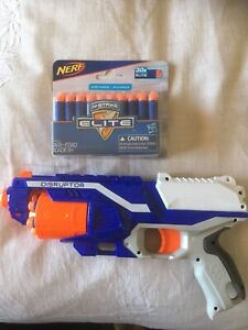 Nerf toy gun Disruptor and pack of rounds