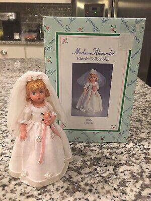 Madame Alexander Classic Collectibles Bride Figurine Madame Alexander Classic Collectibles
