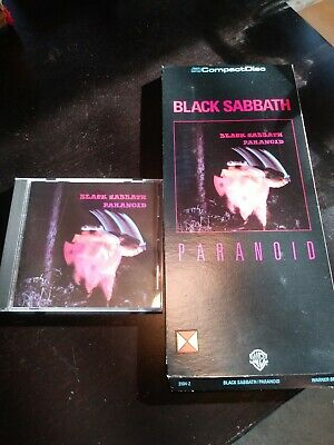 BLACK SABBATH- PARANOID- LONG BOX CD- WARNER BROS. #3104-2