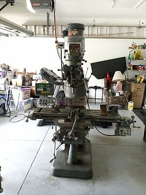 Bridgeport Milling Machine Used Pick Up Only Series One 2hp With All Extras.