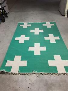 Temple and Webster Nordic crosses 100% Cotton rug Bondi Beach Eastern Suburbs Preview
