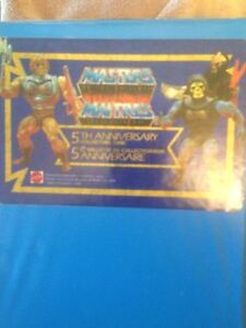 Masters Of The Universe 5th Anniversary Collector Case