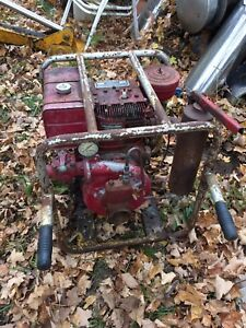 Antique Hale water pump