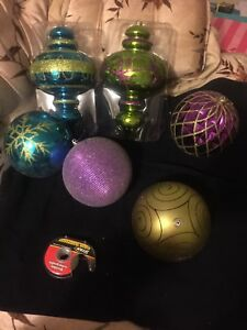 Christmas ornaments large
