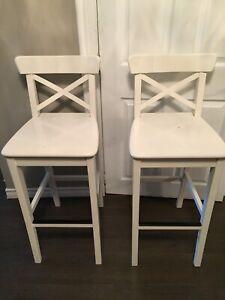 Pair of ikea bar stools