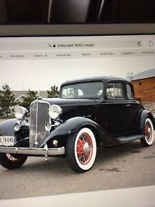Wanted 1933/34 Chevrolet coupe