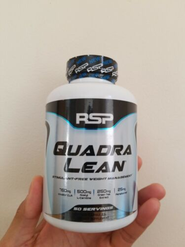 RSP QuadraLean Weight Loss Supplement with CLA, Garcinia Cam