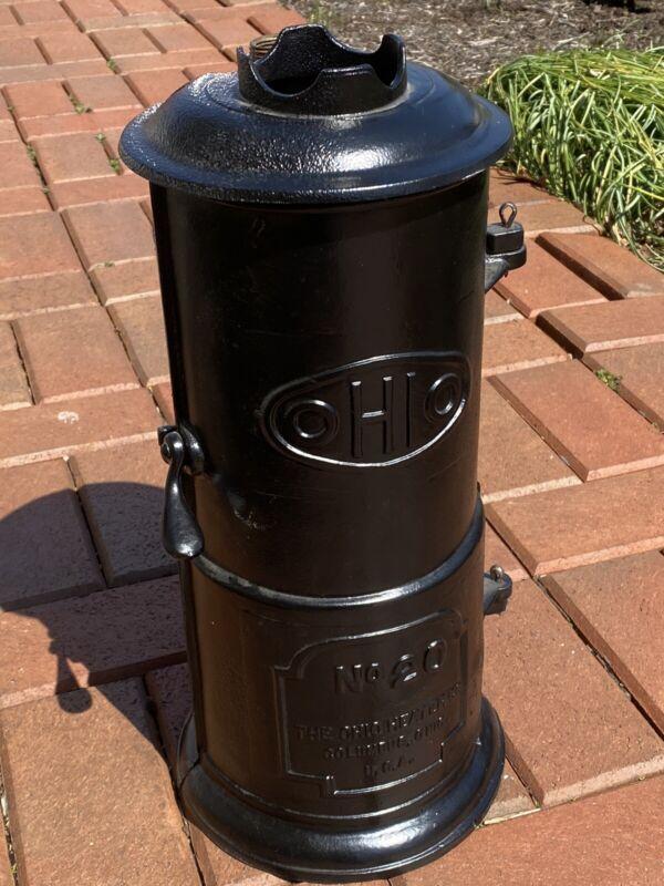 Vintage Antique Ohio Gas Hot Water Heater Model # 20 Circa 1920