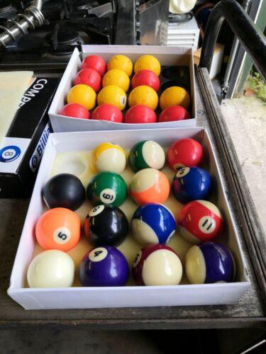 Pool Ball Sets Incomplete