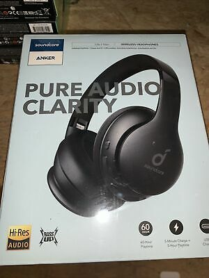 Soundcore by Anker Life 2 Neo Wireless Bluetooth Over-Ear Headphones Black SEAL