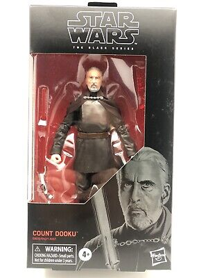 Star Wars The Black Series Count Dooku 6-inch Action Figure - In Stock