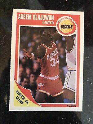 - Hakeem Olajuwon Rockets Card