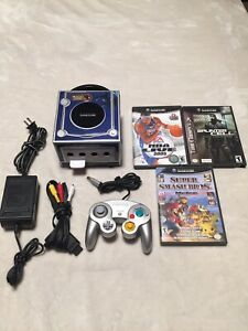 Nintendo GameCube console bundle 3 games super smash bros melee