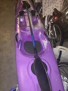 Spirit CTR sit on top kayak surf ski with paddle Miranda Sutherland Area Preview