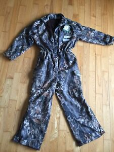 NWT One Pice Mossy Oak Camo Suit Windproof Waterproof Breathable