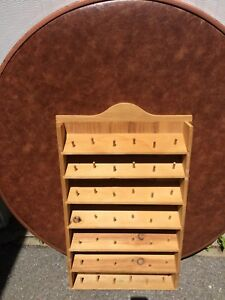 WOODEN RACK w/ Spools (Was Asking $15 - NOW ONLY $10)