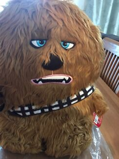 Chewbacca furry backpack