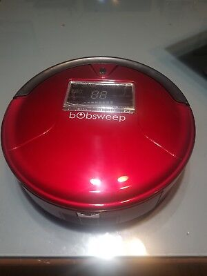 BObsweep PetHair Robotic Vacuum Cleaner -Rouge Red-