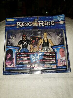 WWF King of the Ring Grudge Match X-Pac Double J Jeff Jarrett 1999 jakks pacific