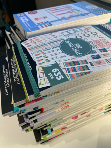 MAMBI THE HAPPY PLANNER STICKER BOOKS *YOU CHOOSE*