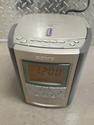 Sony Dream Machine ICF-CD863V AM/FM CD Player Alarm Clock Radio Read Description