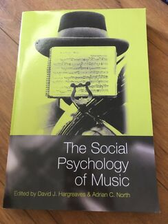 Social psychology in western australia books gumtree australia the social psychology of music david hargreaves fandeluxe Image collections