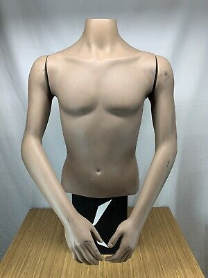 Male Torso Mannequin With Arms