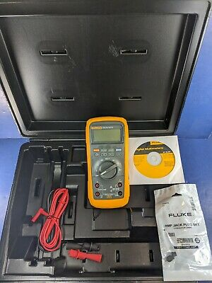 New Fluke 27 Ii An Rugged Waterproof Multimeter Calibrated Case More