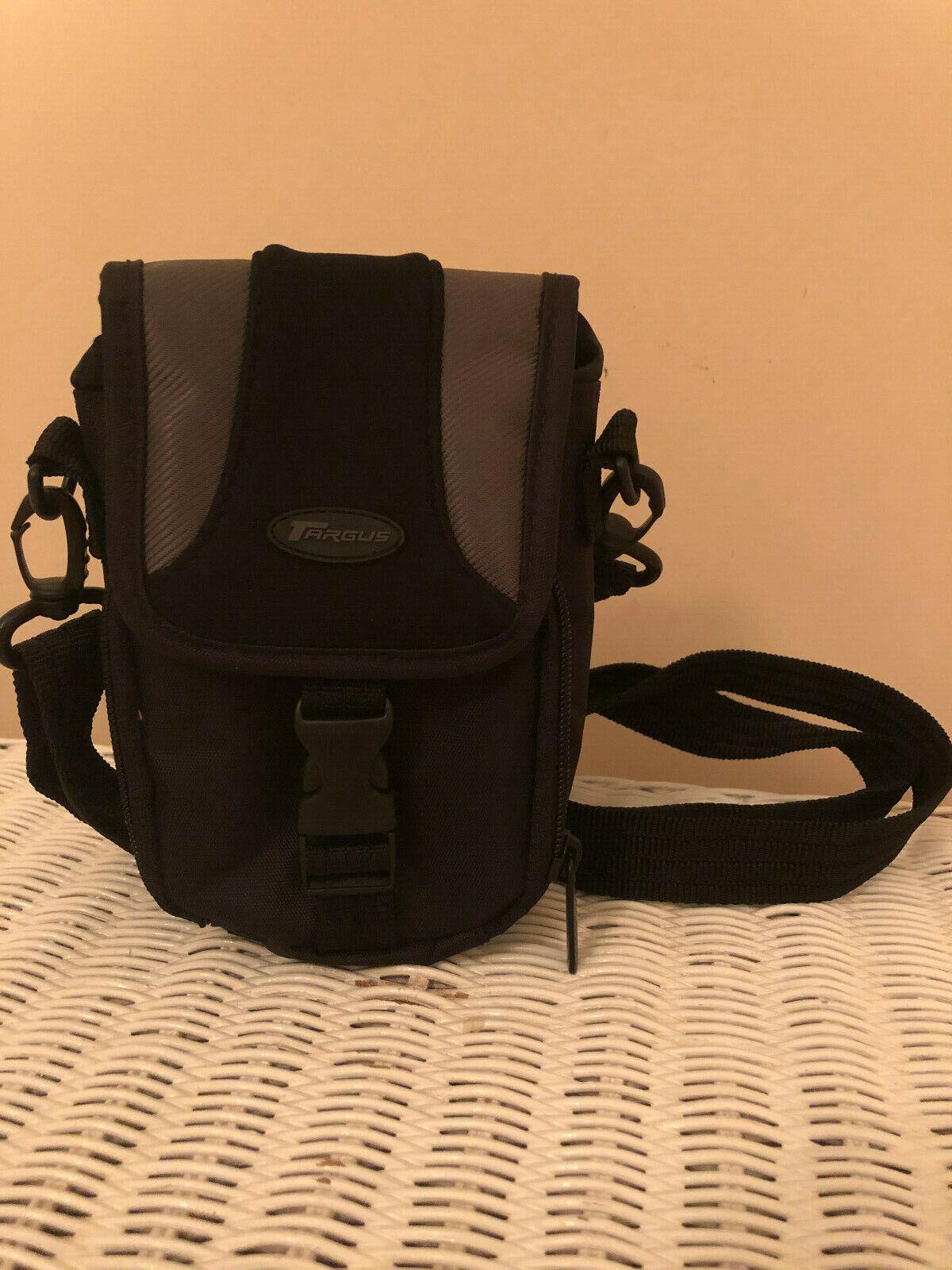 Targus Camera Bag, Small, Snap Lock Closure, Adjustable Strap, New W/o Tags - $10.00