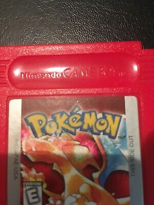 Pokemon Red Version- Authentic, New Battery!! (Game Boy, 1998)