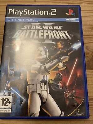 Star Wars Battlefront 2 PS2 Game With Manual Playstation 2 Star Wars Battlefront