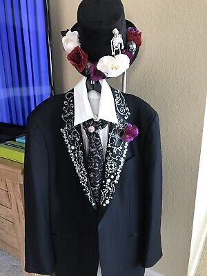Day Of The Dead Theatrical Quality Halloween Costume](Theatrical Quality Costumes Halloween)